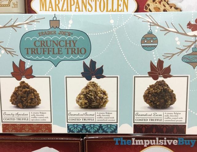 Trader Joe's Crunchy Truffle Trio