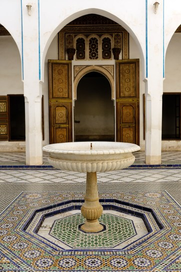 Bahia Palace (21 Fascinating Things to Do in Marrakech Morocco).