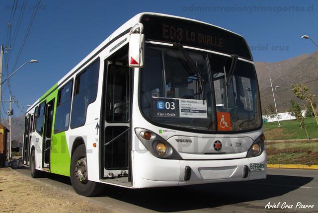 Transantiago - Subus Chile - Marcopolo Gran Viale / Volvo (BJFG99)