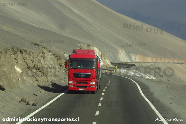 Camión MAN (CPYW80) - Cuesta Chiza - DKXL99