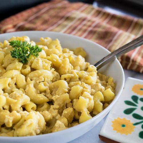 vegan mac and cheese