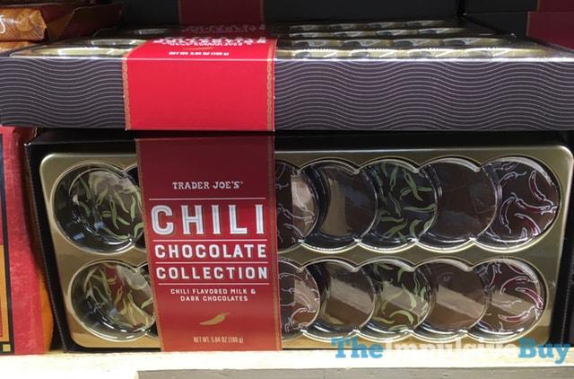 Trader Joe's Chili Chocolate Collection