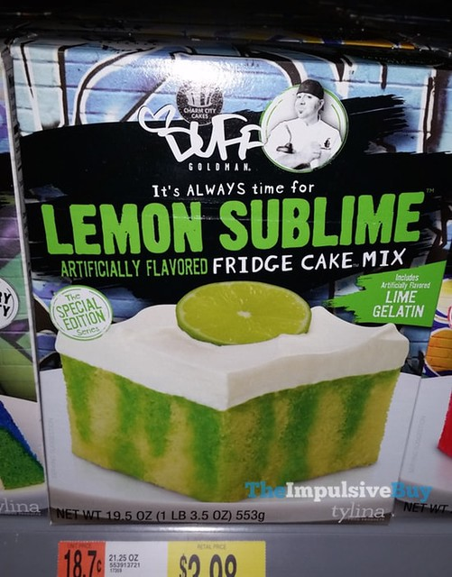 Charm City Cakes Duff Goldman The Special Edition Series Lemon Sublime Fridge Cake Mix