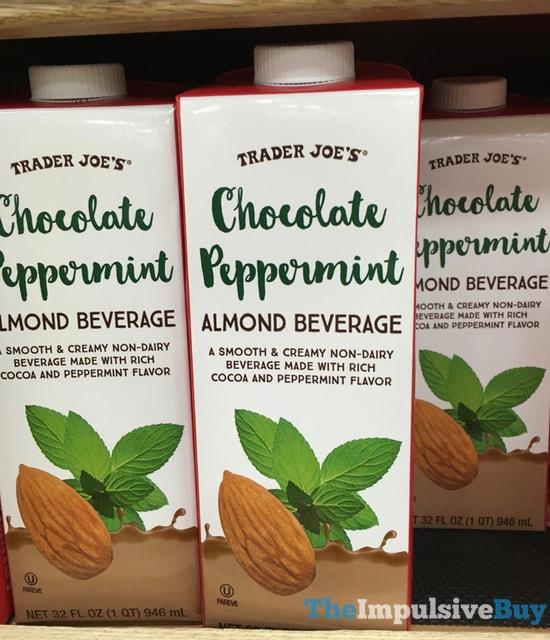 Trader Joe's Chocolate Peppermint Almond Beverage