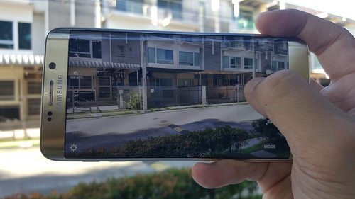 User Interface กล้องของ Samsung Galaxy S6 edge+