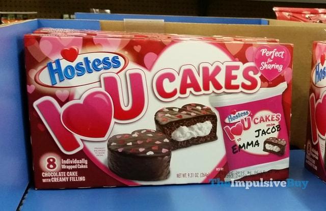 Hostess I Heart U Cakes