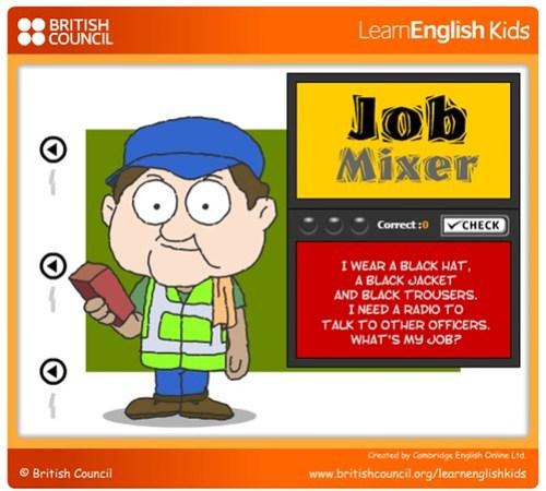 British Council Job Game