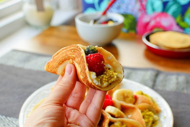 Filled Arabic Pancakes Ataif