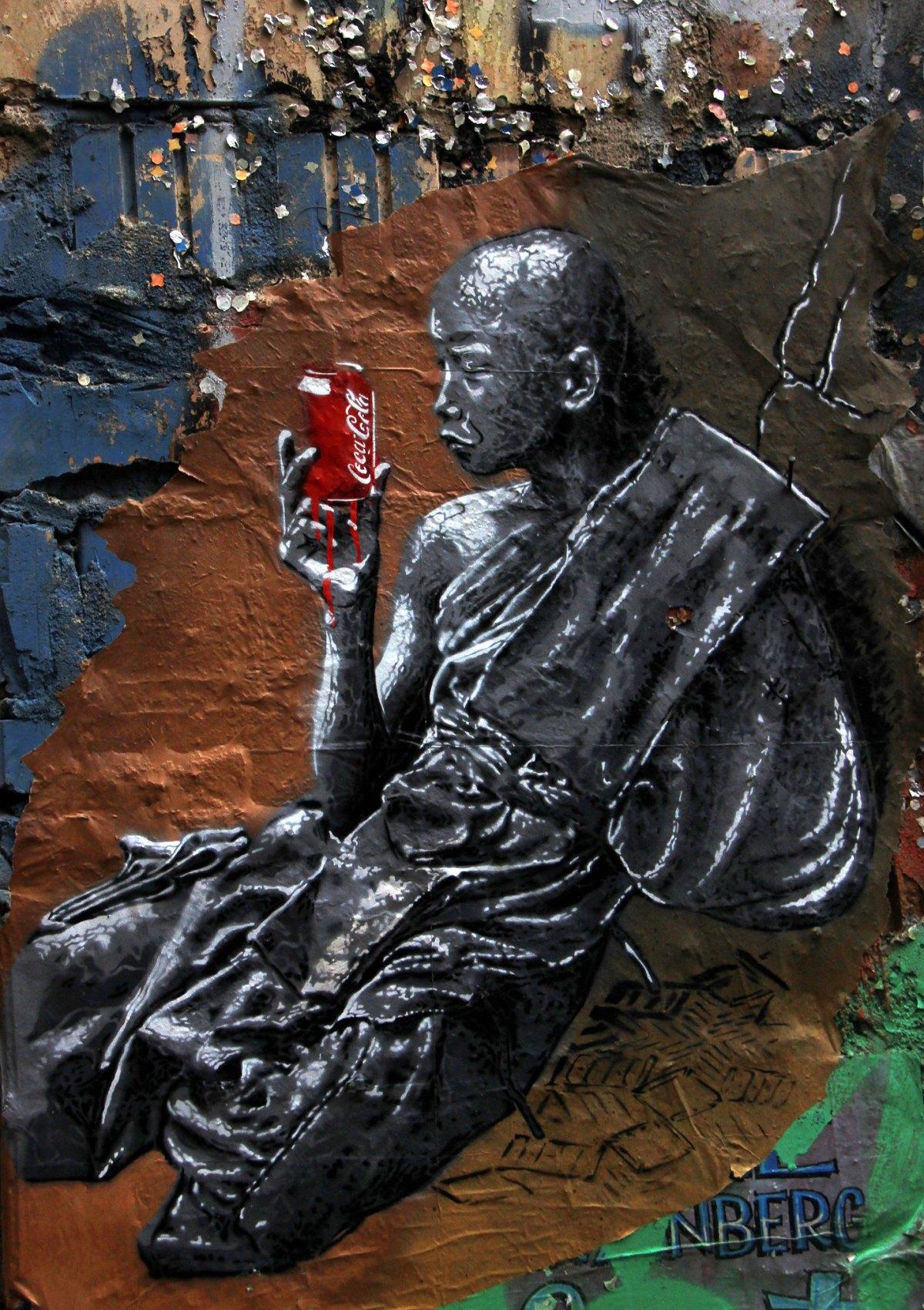 Berlin street art often chooses quirky subjects