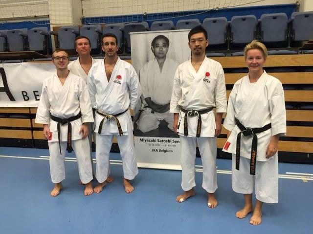 Séminaire Instructeurs JKA Europe, Volvorde – BELGIQUE