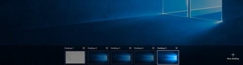 Windows 10 Multi desktop