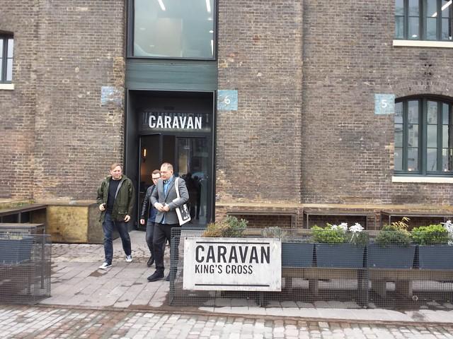Caravan King's Cross, London