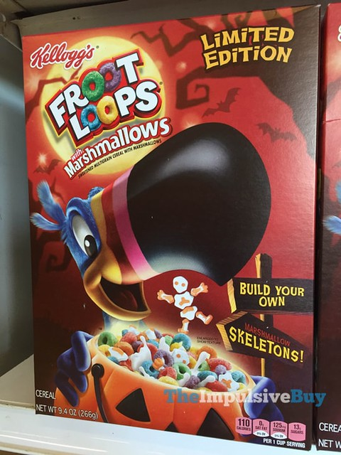 Kellogg's Limited Edition Froot Loops with Marshmallows Build Your Own Skeletons