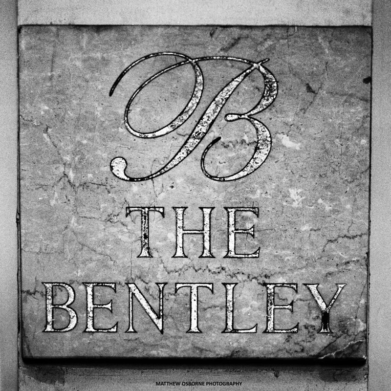 The Bentley Hotel - Hasselblad Wedding