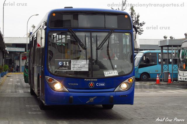 Transantiago - Subus Chile - Marcopolo Gran Viale / Volvo (CJRP10)