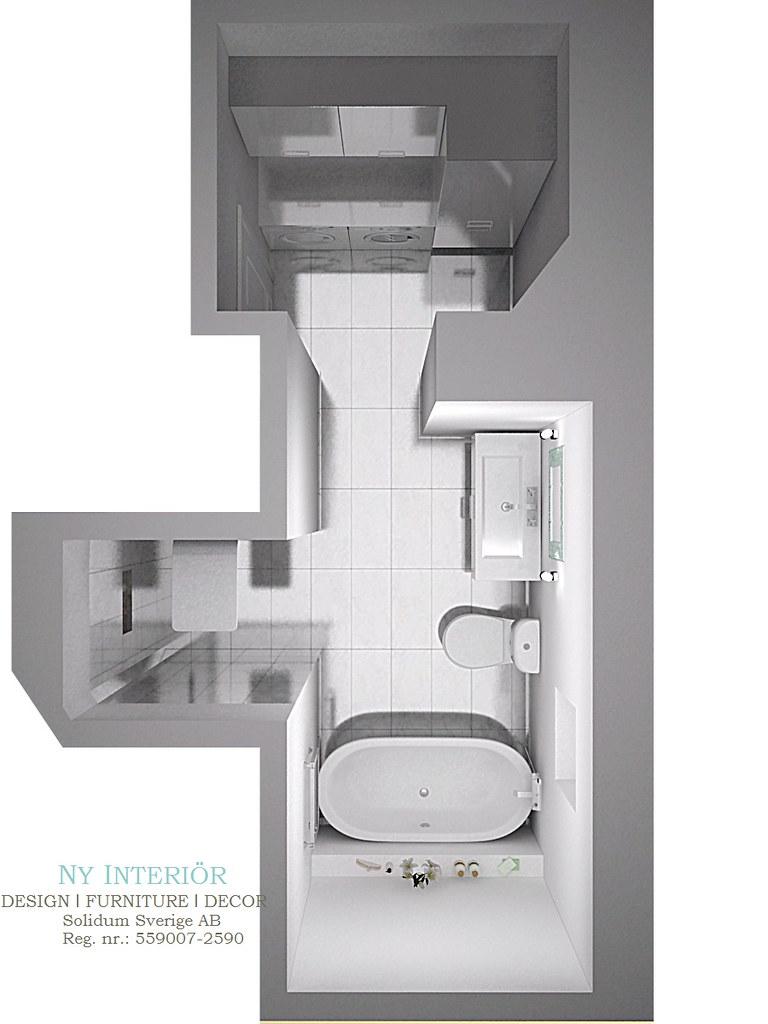 3D-ritning badrum