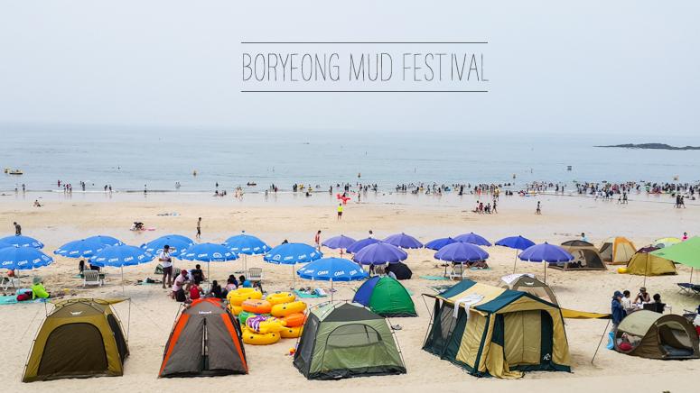 korea // boryeong mud festival