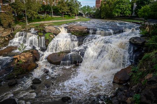 Reedy Falls and Liberty Bridge