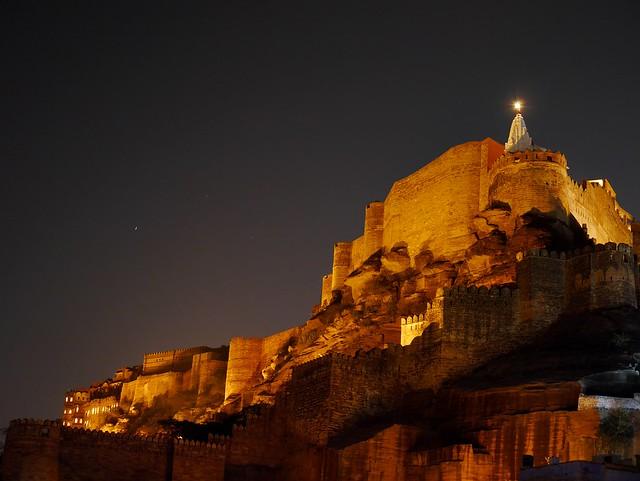 Mehrengarh by Night