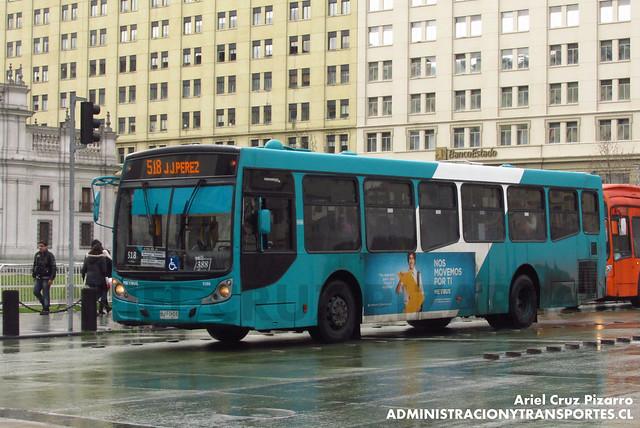Transantiago - Metbus - Caio Mondego H / Mercedes Benz (BJFD55)