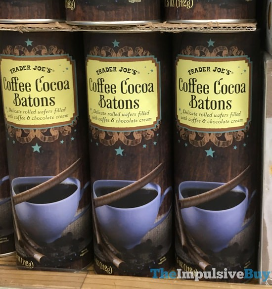 Trader Joe's Coffee Cocoa Batons