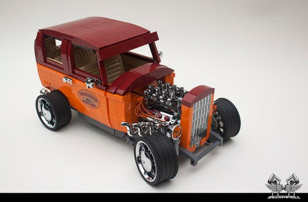 Lego Hot Rod Archives The Brothers Brick The Brothers Brick
