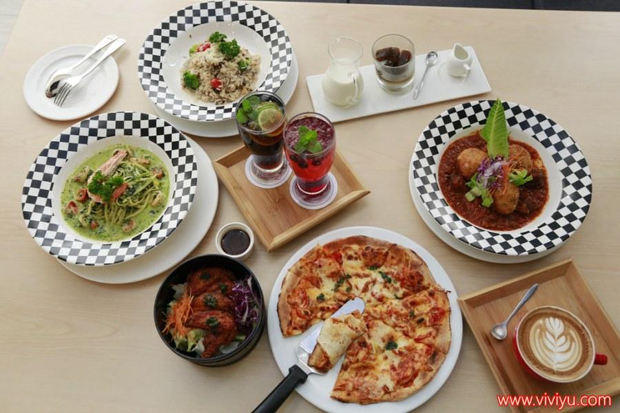 下午茶,咖啡,披蕯,燉飯,義大利麵,苗栗美食,費莉絲,頭份交流道,頭份鎮 @VIVIYU小世界