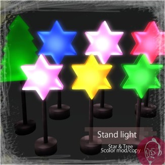 Stand light ad