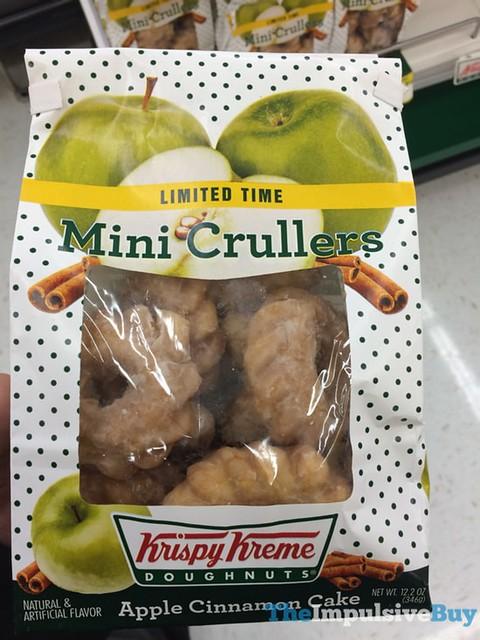 Krispy Kreme Limited Time Apple Cinnamon Cake Mini Crullers