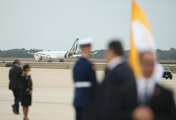 Recibe Obama al papa Francisco en Washington