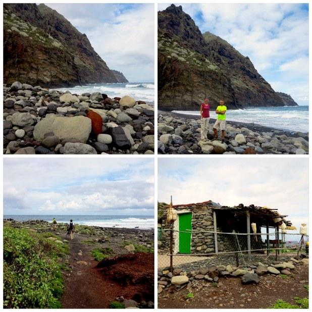 Playa Tamadiste, Anaga