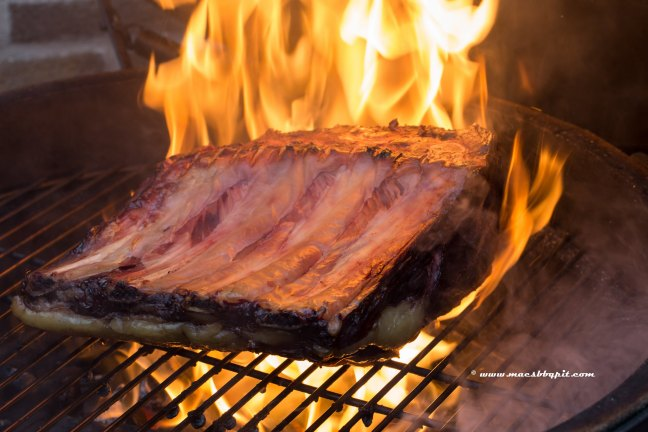 Texas Longhorn Prime rib roast