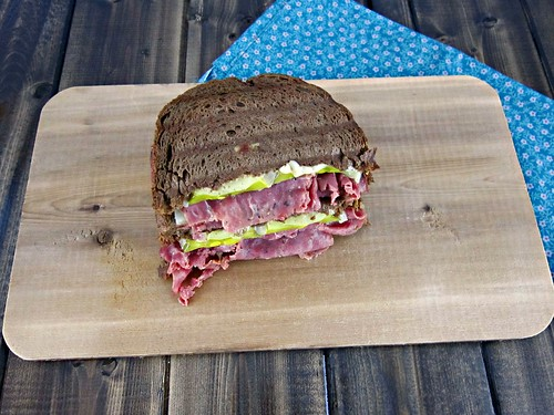Pastrami Swiss on Rye