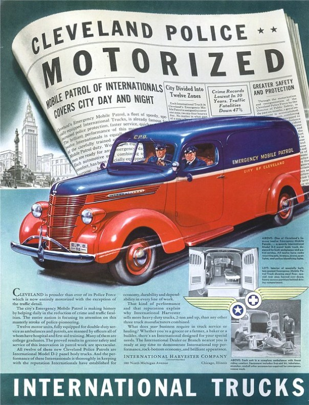International Model D-2 - published in The Saturday Evening Post - May 13, 1939