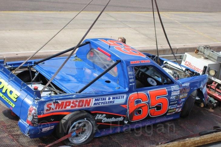 Pick Up Truck Racing, Rockingham, Sept 2015