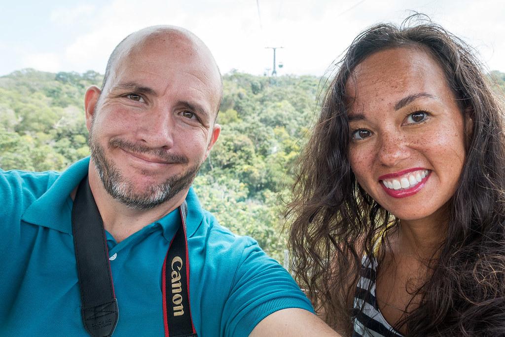 Skyrail Selfie!