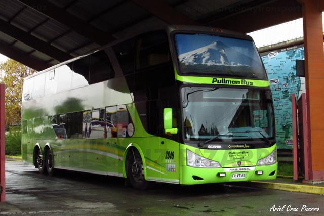 Pullman Bus - Pucón - Modasa Zeus / Scania (FXVT53) (2849)