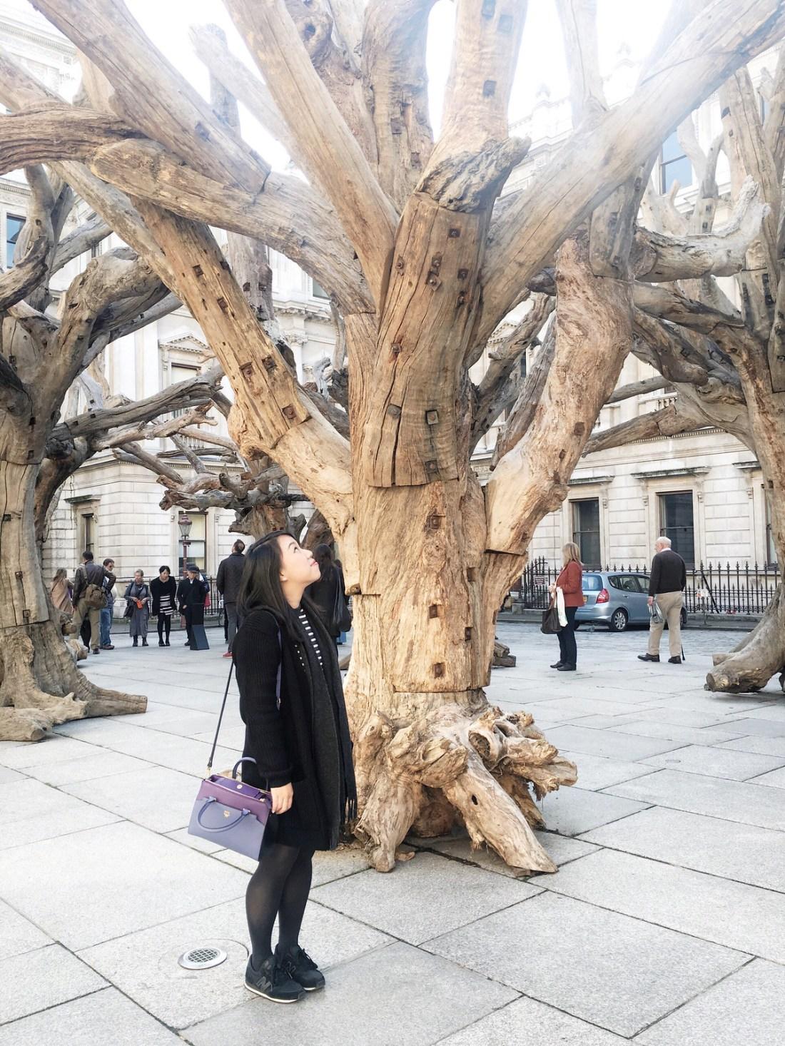 ai wei wei royal academy portrait tree