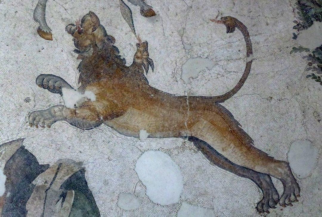 Turquie - jour 24 - Derniers instants à Istanbul - 19 - Musée des mosaïques du Grand Palais de Constantin - Büyük Saray Mozaikleri Müzesi