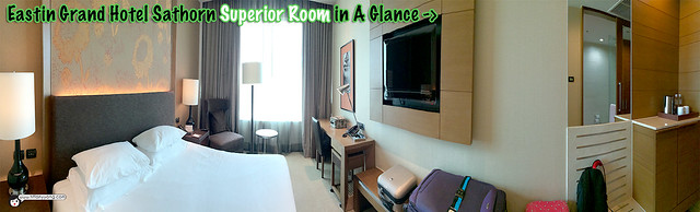 Eastin Grand Superior Room Panorama