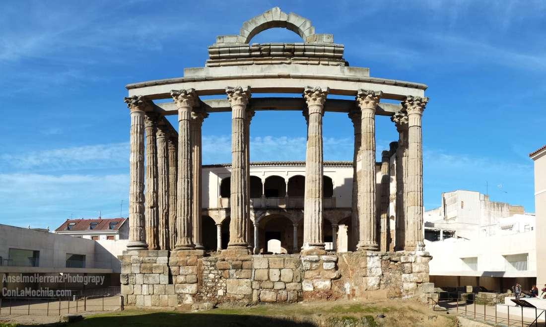 Templo de Diana - Merida - Badajoz