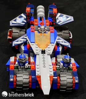 NEXO Knights 70315 Clay's Rumble Blade