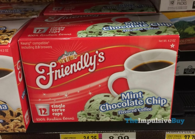 Friendly's Mint Chocolate Chip K-Cup