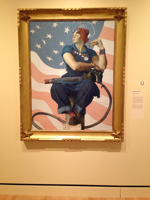 Norman Rockwell: Rosie the Riveter