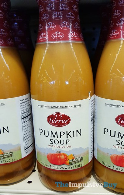 Ferer Pumpkin Soup with Olive Oil