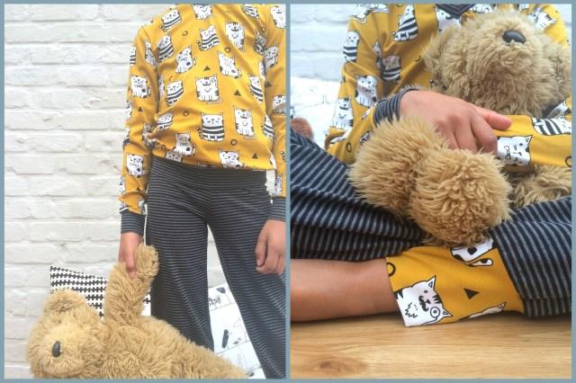 billie pijama (collage)