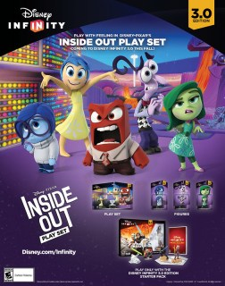 Disney Infinity 3.0 Edition   INSIDE OUT Poster