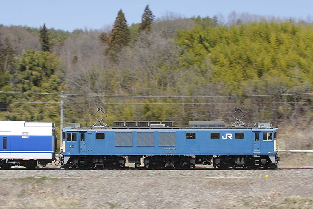 EF64-1006 + Series 371 Transfer for Fuji-kyu