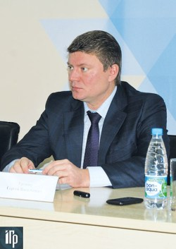 Министр транспорта Красноярского края Сергей Еремин
