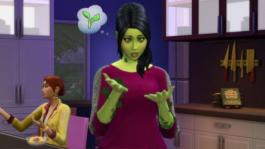 Les Sims 4 cuisine
